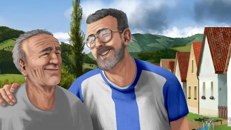 Albert s dedkom